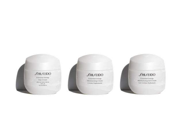 Shiseido's Essential Energy collection.
