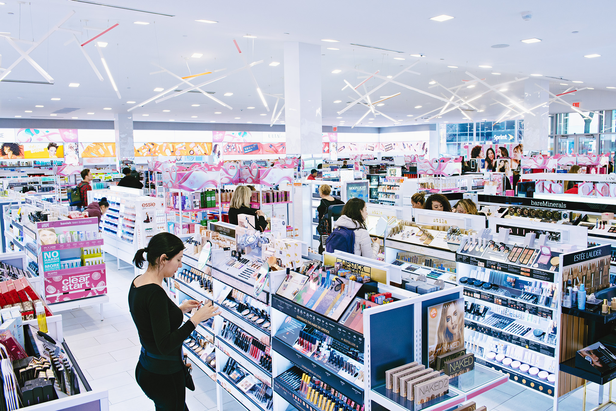 The Ulta Beauty store in Manhattan