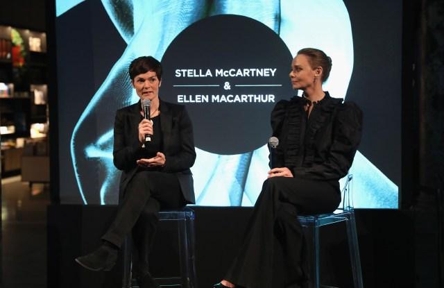 Ellen MacArthur and Stella McCartney