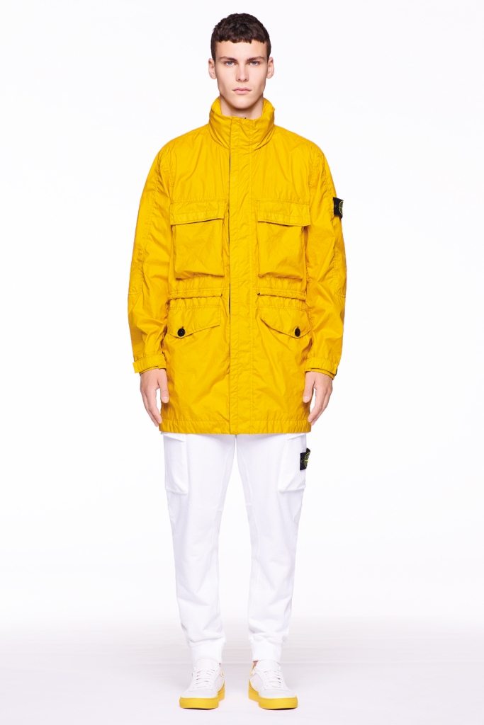 A look from Stone Island spring 2018 collection