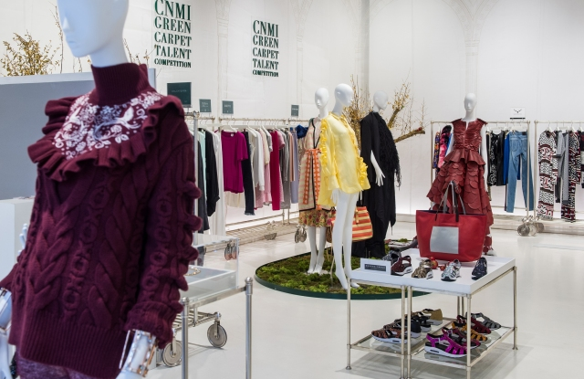 The Creative Spot Fashion in Fidenza Village, Italy.