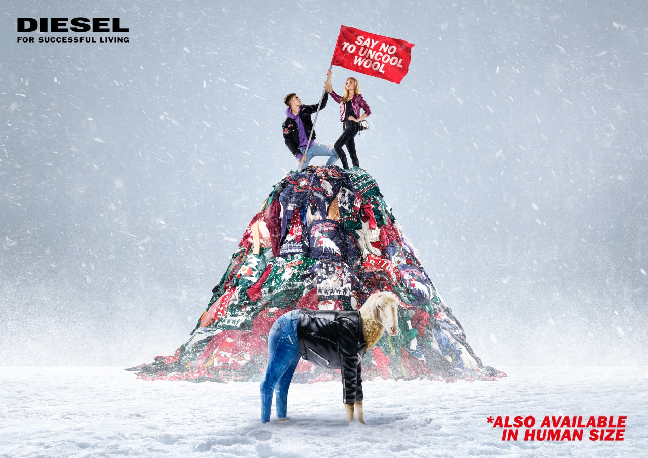 Diesel Holiday 2017 advertising campaign