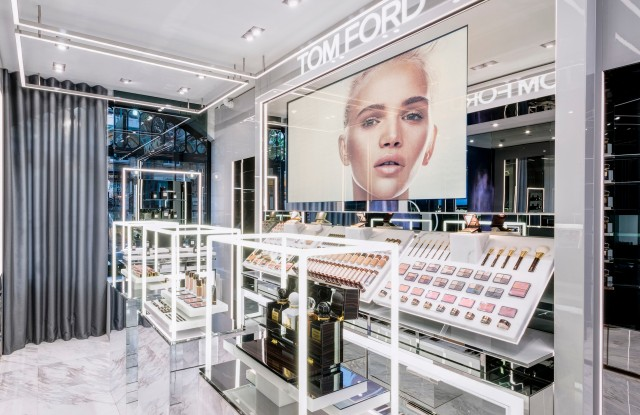 The Tom Ford Beauty store in London's Covent Gardens.