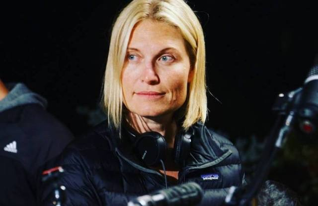 Tosca Musk on location.