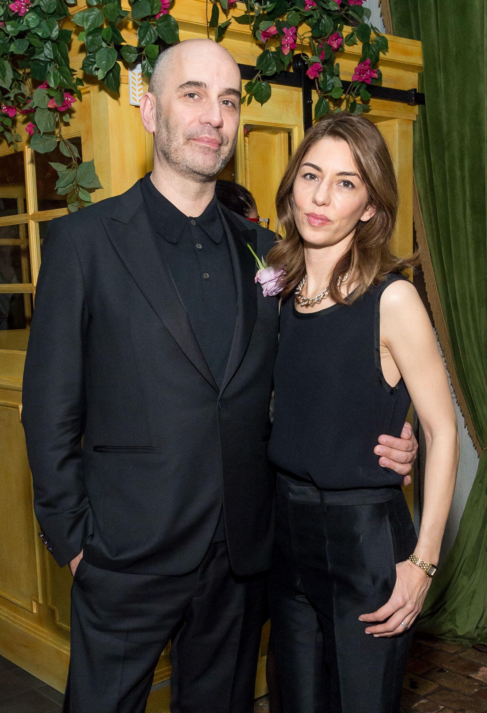 Fabrizio Viti and Sofia Coppola Fabrizio Viti Socialista Dinner, New York, USA - 29 Nov 2017