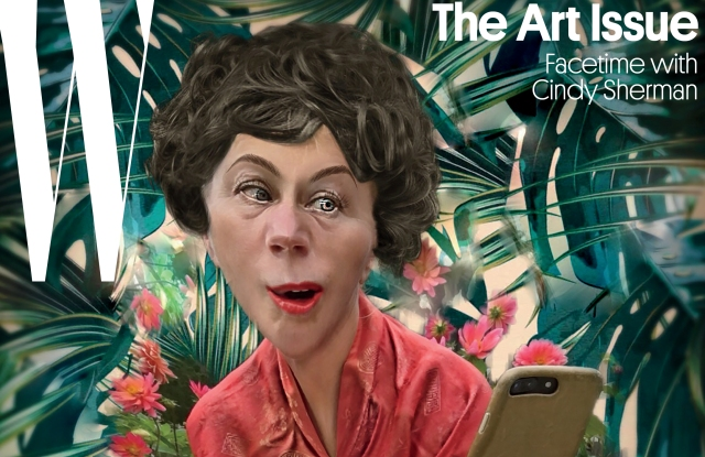 W Cindy Sherman Cover ART ISSUE 2017