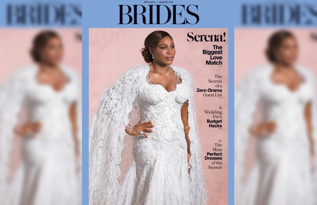 Serena Williams on the cover of Brides