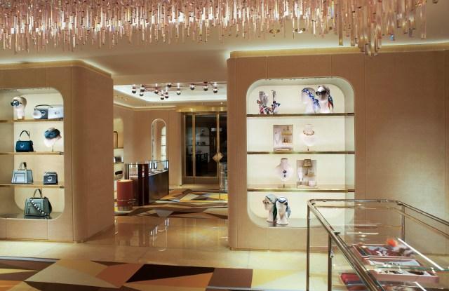Fendi flagship on London's Sloane Street