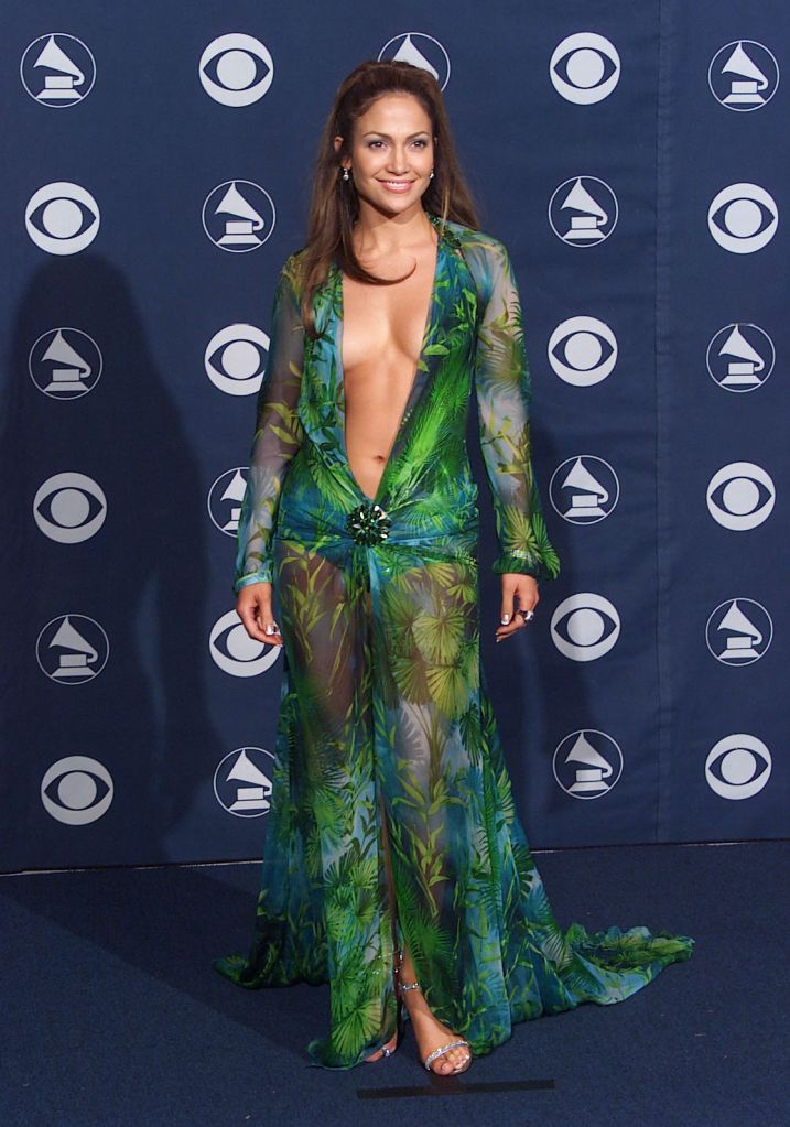 Jennifer Lopez wearing this green Versace dress to the 2000 Grammys was searched so much it drove Google to develop Google Images.