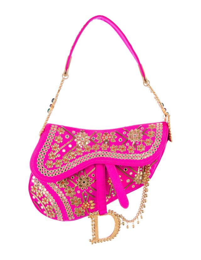 Dior's Saddle bag, now a trendy item for vintage collectors.