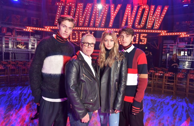 The TommyNow show that took place last September in London.