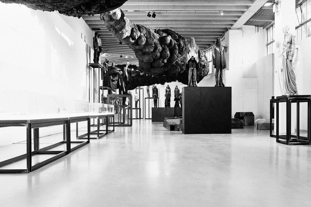 """Rick Owens. Subhuman Inhuman Superhuman"" exhibition in Milan"
