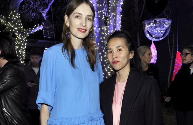 Roksanda Ilincic and Olivia Kim