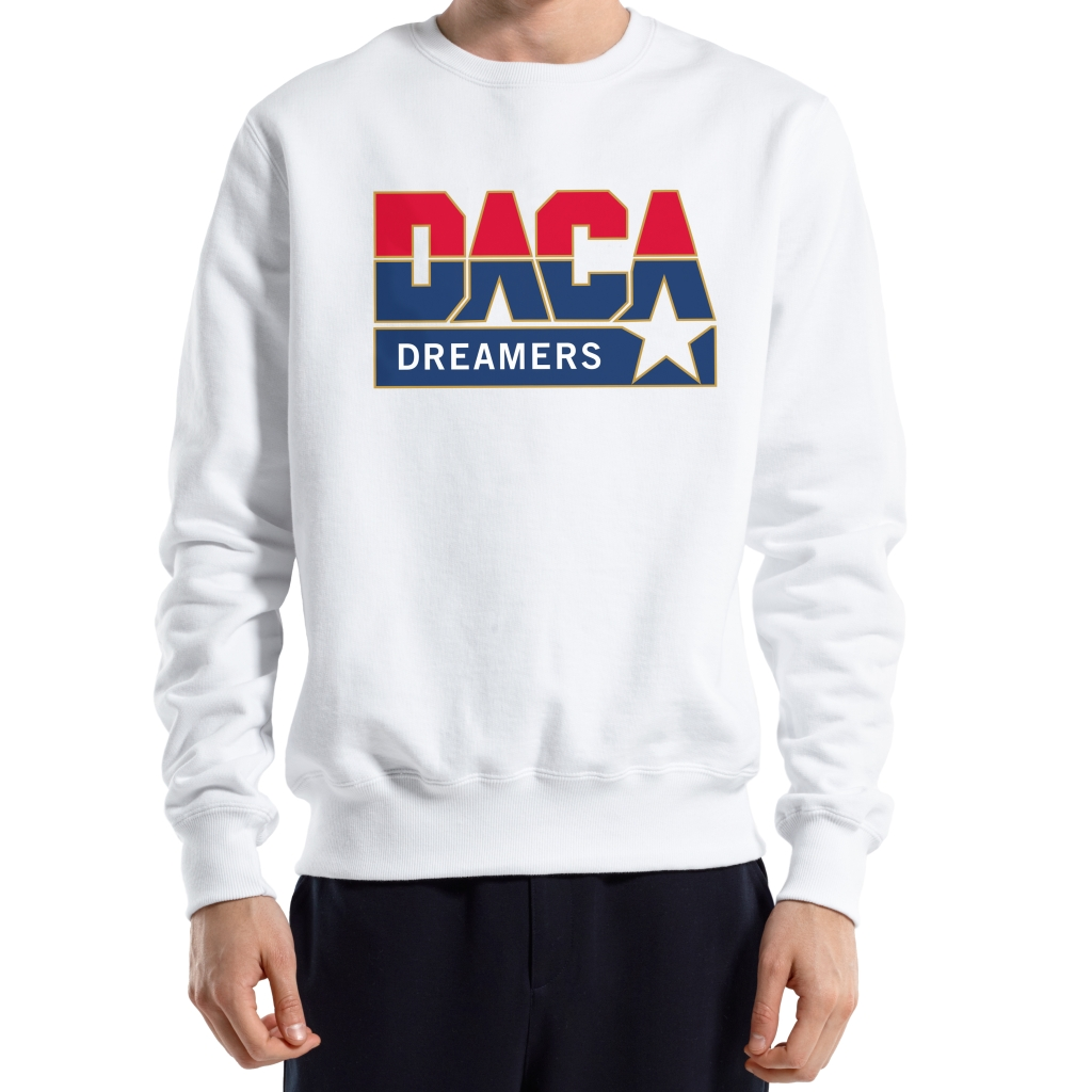 Crewneck designed by Public School to support the ACLU.