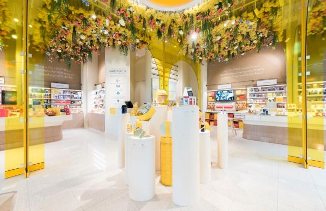 L'Occcitane's new experiential boutique.