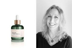 Biossance Squalene Vitamin C Rose Oil, Biossance founder Mollie Jensen.