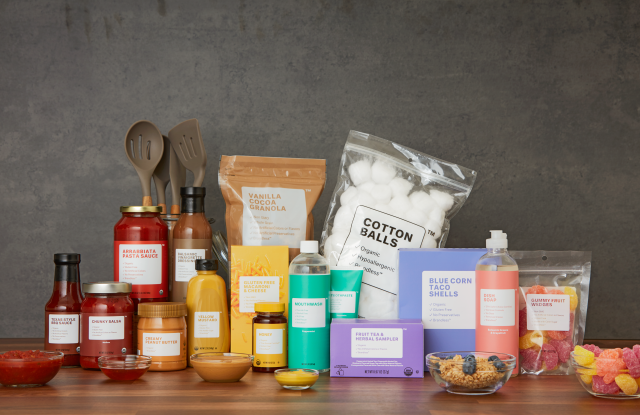 A partial assortment from Brandless.