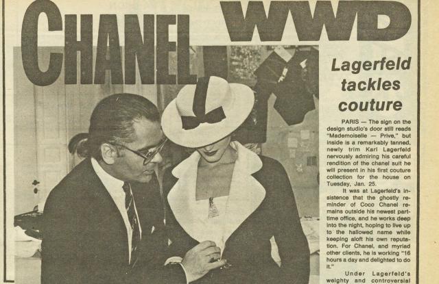chanel lagerfeld decades