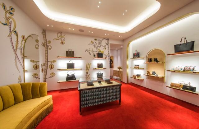 Christian Louboutin's Boston boutique.