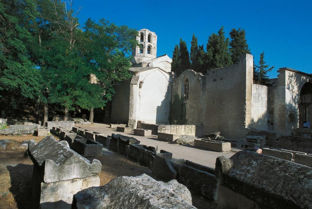 The Alyscamps Roman necropolis