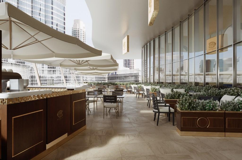 The Cova Café in Dubai.