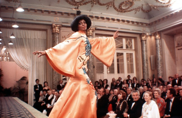 Diana Ross Magohany fashion