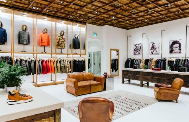 Woolrich's new Toronto store