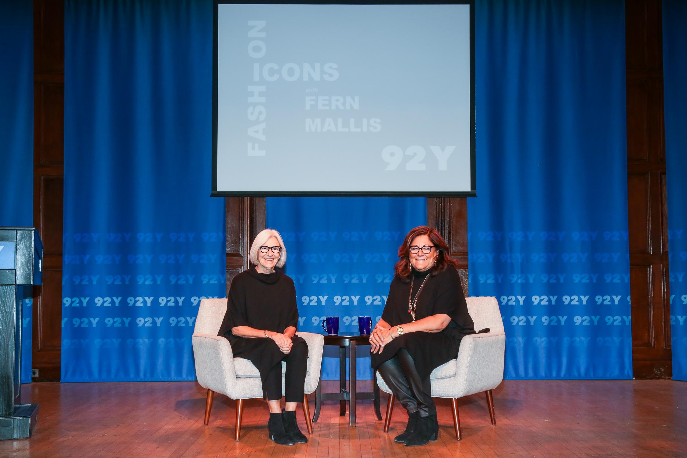 Eileen Fisher and Fern Mallis