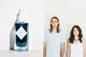 Herbivore Lapis Facial Oil, Herbivore co-founders Alex Kummerow and Julia Wills.