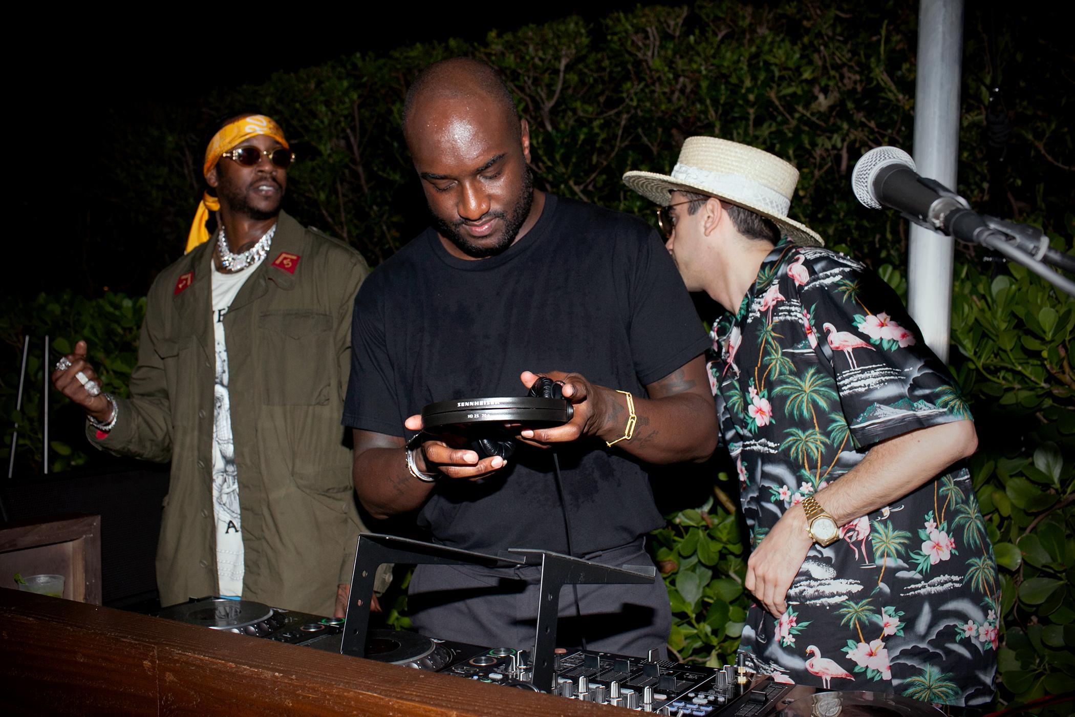 2 Chainz, Virgil Abloh and DJ Cassidy