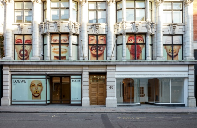 Loewe store Bond Street