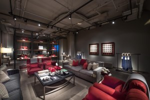 The Loro Piana Lounge at Sotheby's