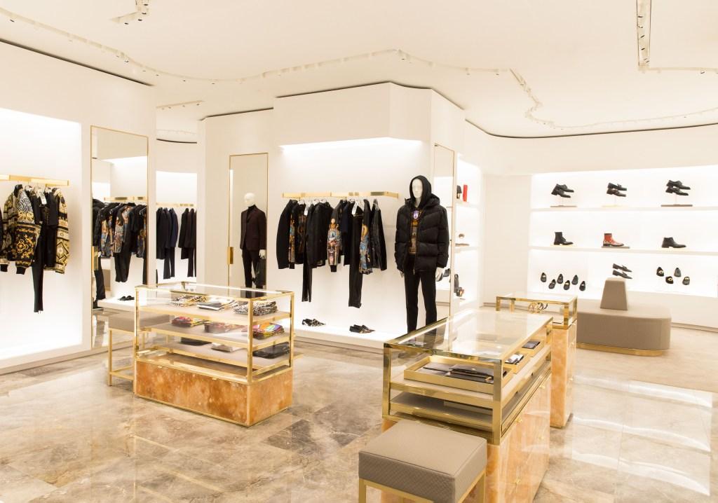 ersace boutique on Sloane Street