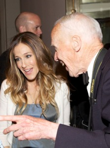Sarah Jessica Parker and Bill Cunningham
