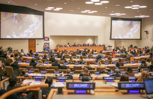 Nest convening at the United Nations on Dec. 7th, 2017. Photo courtesy of Nest.