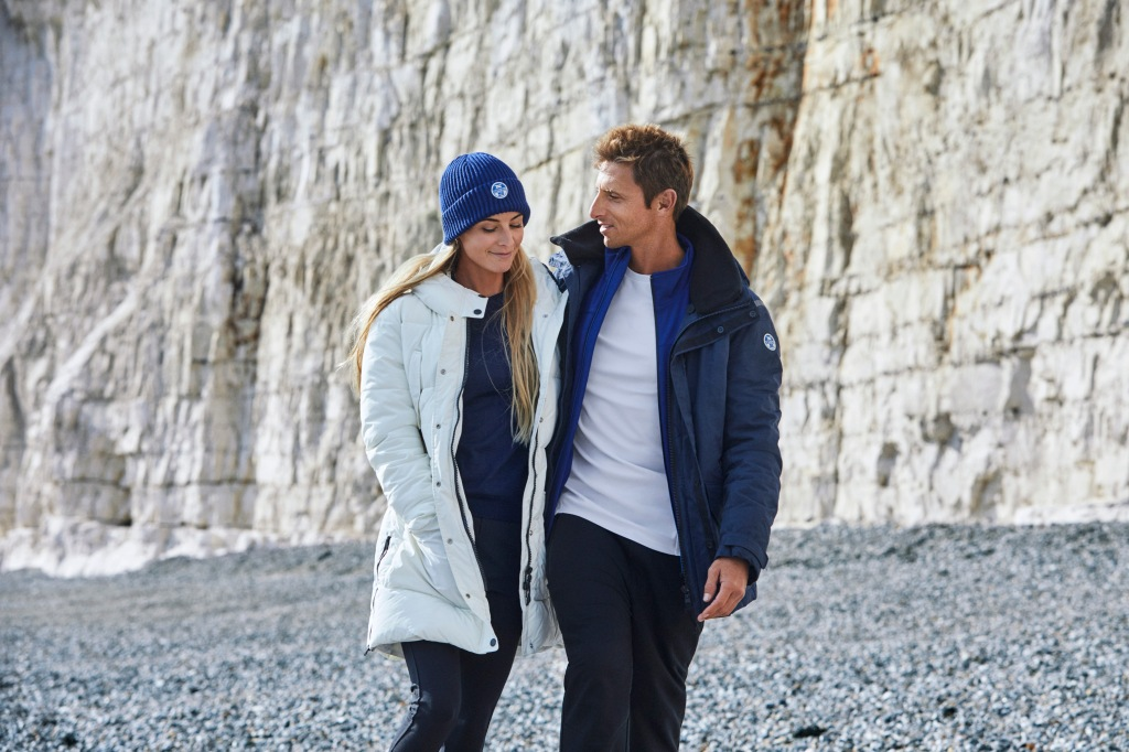 Ocean Ramsey and Juan Oliphant front North Sails' fall 2017 ad campaign.
