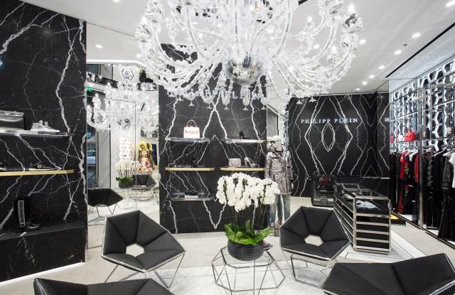 Philipp Plein store on Avenue George V in Paris