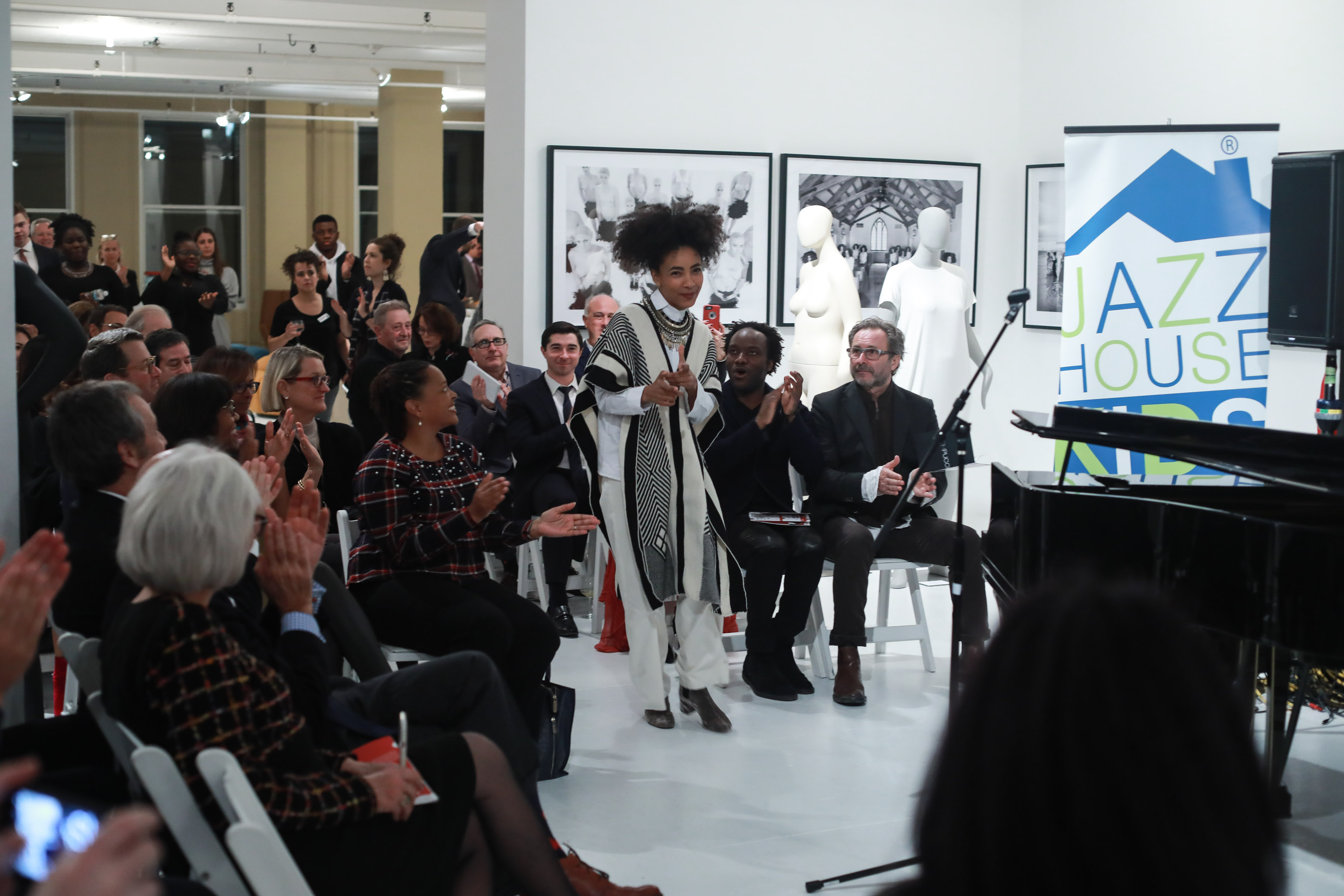 Esperanza Spalding==Ralph Pucci 2nd Annual Jazz Set==Ralph Pucci at 44 West 18th Street, NYC==December 4, 2017==©Patrick McMullan==Photo - Gonzalo Marroquin/PMC====