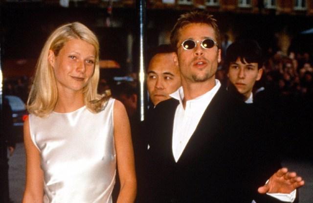 Gwyneth Paltrow and Brad Pitt'LEGENDS OF THE FALL' PREMIERE, LONDON, BRITAIN - 1995