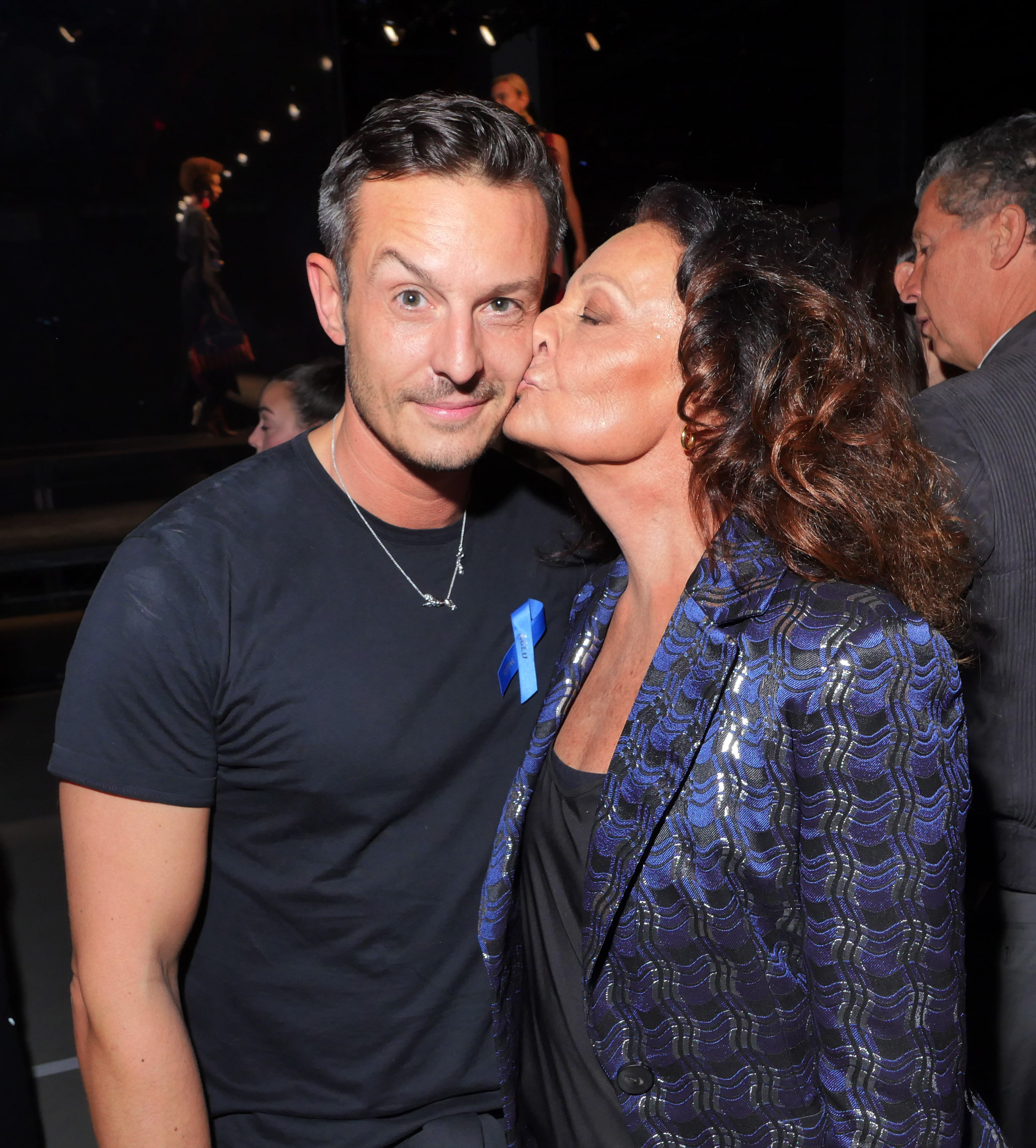 Jonathan Saunders and Diane von Furstenberg in the front rowDiane Von Furstenberg presentation, Front Row, Spring Summer 2018, New York Fashion Week, USA - 10 Sep 2017