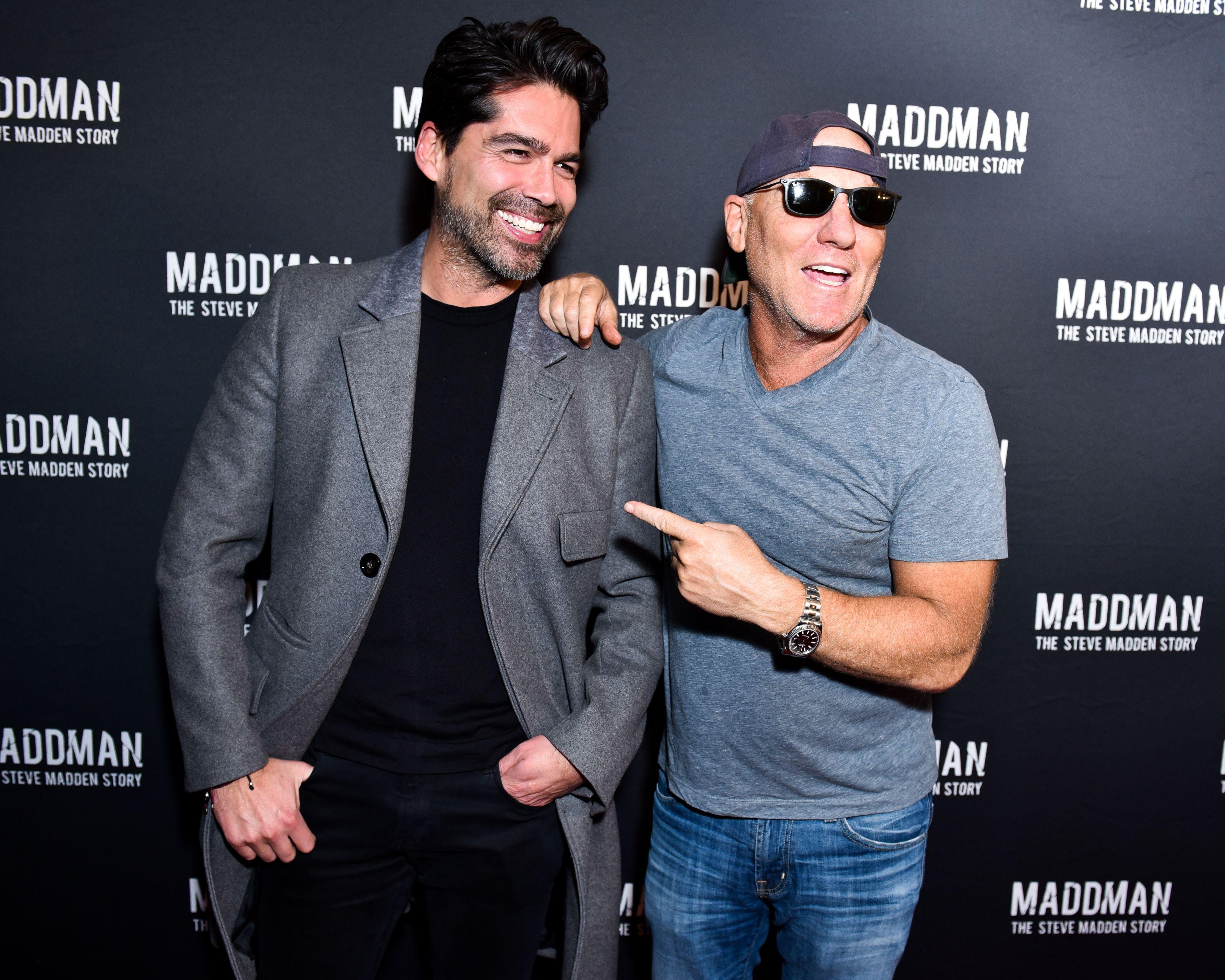 Brian Atwood, Steve Madden'Maddman: The Steve Madden Story' film premiere, New York, USA - 30 Nov 2017