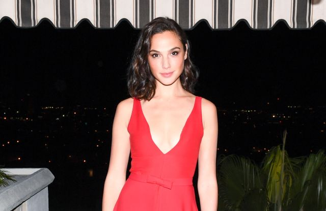 Gal GadotDior Homme Hosts Private Dinner to Celebrate GQ Men of the Year, Los Angeles, USA - 07 Dec 2017