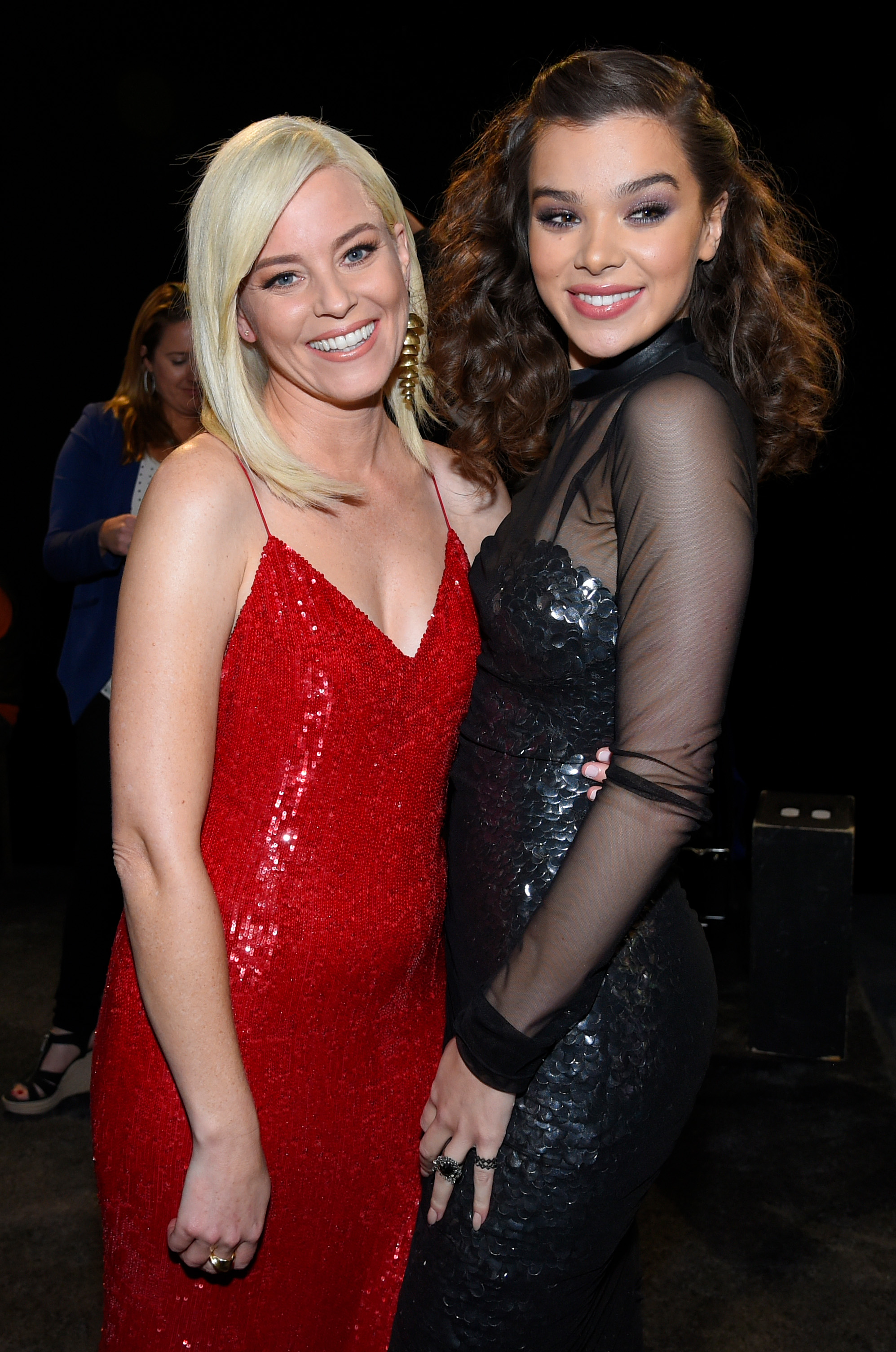 Elizabeth Banks and Hailee Steinfeld'Pitch Perfect 3' film premiere, Arrivals, Los Angeles, USA - 12 Dec 2017