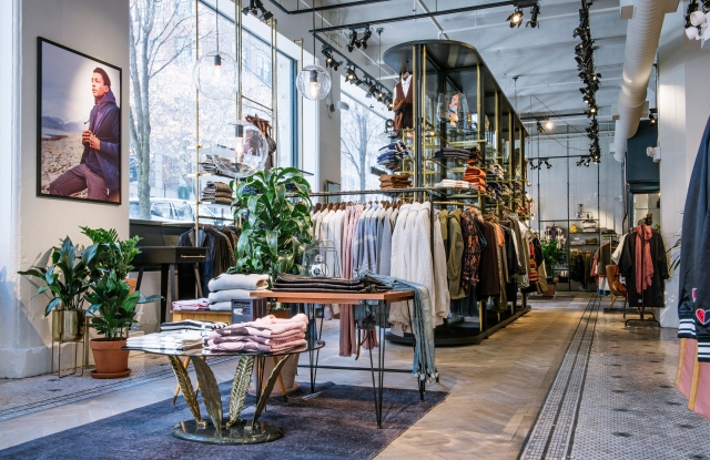 The new Scotch & Soda store in Dumbo.