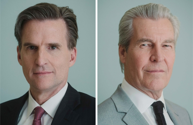 Macy's Terry J. Lundgren and Jeff Gennette