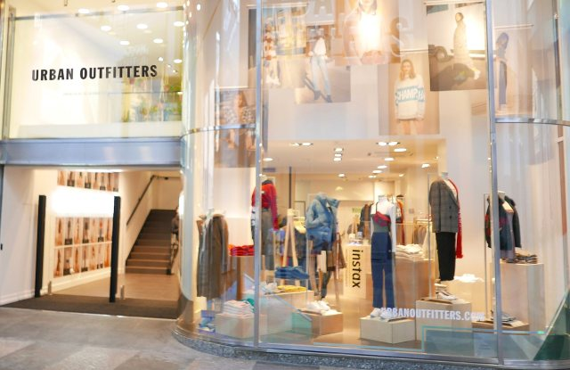 Urban Outfitters Store in Milan