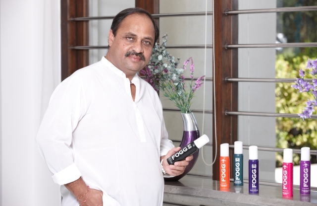 Darshan Patel, founder of Fogg Deodorant
