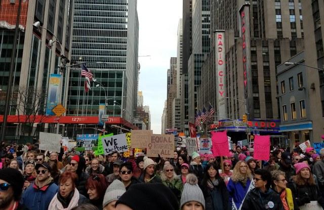 Women's March 2018, New York.