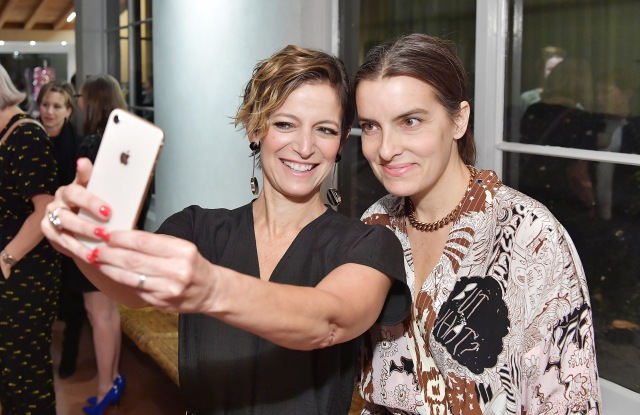 Cindi Leive (L) and Rachel Comey attend Conde Nast & The Women's March Organizers Host a Cocktail Party to Celebrate the One Year Anniversary of the March & the Publication of Together We Rise on January 24, 2018 in West Hollywood, California. (Photo by Stefanie Keenan/Getty Images for GLAMOUR)
