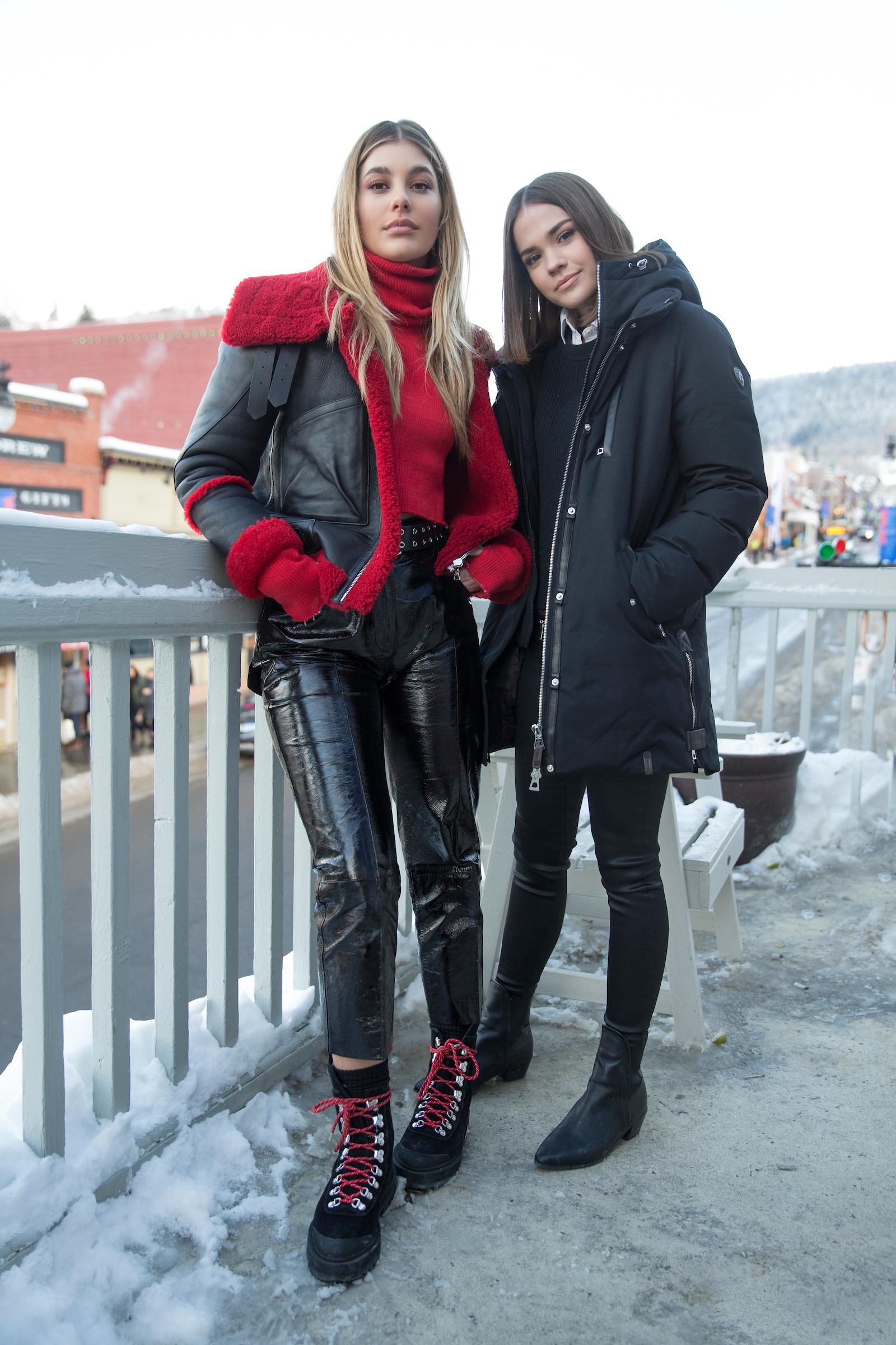 Sundance Film Festival 2018 Camila Morrone and Maia Mitchell